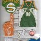 NBA Stickers Seattle Sonics