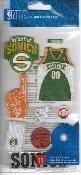 NBA Stickers Seattle Sonics