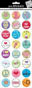 Me & My Big Ideas Jelly Stickers Tween/Girly ES-06