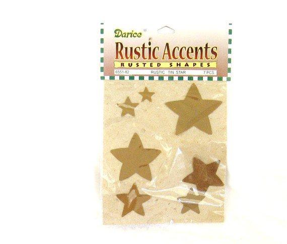 Darice Rustic Accents Rustic Tin Star