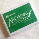 Ranger Inks Archival Ink Pad - Emerald Green (jumbo pad)