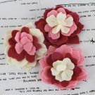 Prima Marketing Inc . - Poppies & Peonies Pink Felt