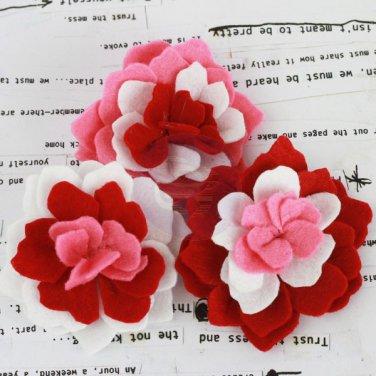 Prima Marketing Inc . - Poppies & Peonies Red Felt