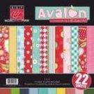 Bazzill Basics - Avalon - 12x12 multipack pad