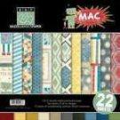 Bazzill Basics - Mac - 12x12 multipack pad