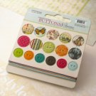 Webster's Pages Trendsetter - Chipboard Buttons and Twine