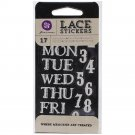 Prima Marketing Inc . - Lace Stickers - day to day