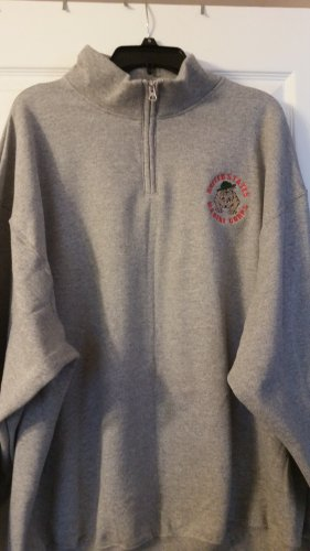 USMC Embroidery Bulldog Sweatshirt