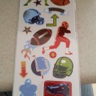Momenta Stickers - Game On Football Shimmer & Shine Stickers