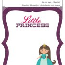 Imaginisce Little Princess die cuts