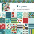 "Imaginisce Paper Pad 12""X12"" 48/Pkg Perfect Vacation"