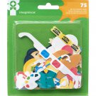 Imaginisce Family Fun Cardstock Die-Cuts 75/Pkg