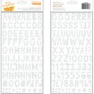 American Crafts thickers Amy Tangerine rise and shine - Alyx Foil Silver