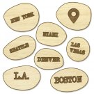 Studio Calico Wood Veneer That-a-way US Cities