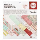PAPER PAD - PATTERNED - WE R MEMORY KEEPERS- CRUSH - 6 X 6 - 36 SHEETS