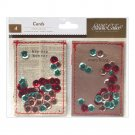 Studio Calico Magical Stitched Confetti Cards 4/Pkg