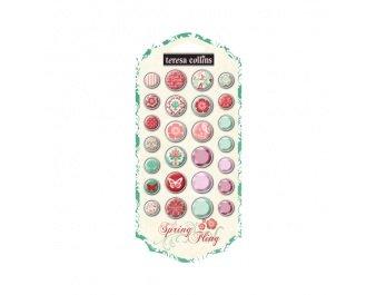 Teresa Collins Designs Spring Fling Brads