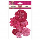 RUBY ROCK IT-Heritage Paper Florals