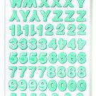 American Crafts 331344 187-Piece Printed Pattern Finish Stickers