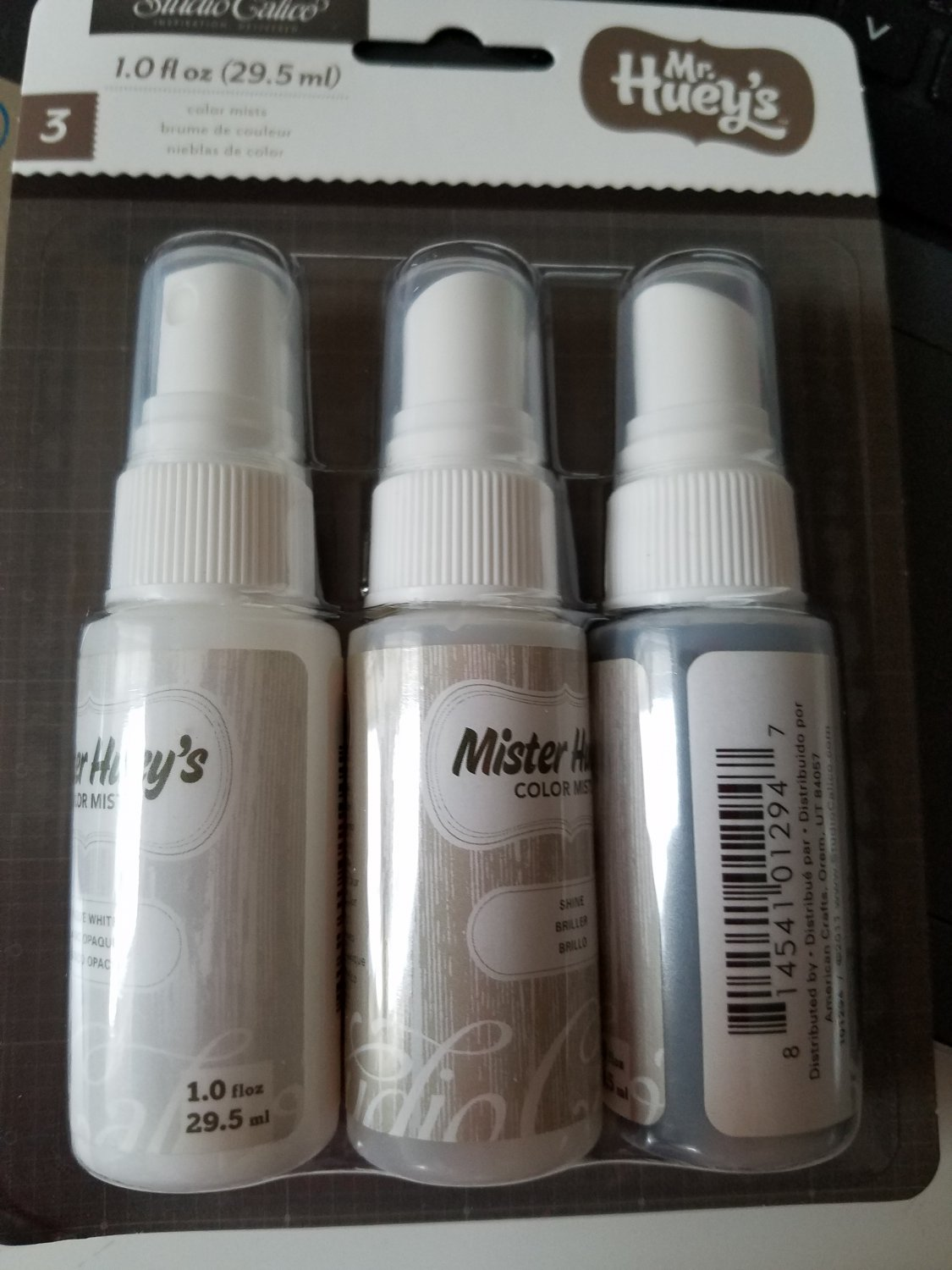 Studio Calico Mister Huey's Color Mist - 3 pack