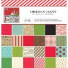"AMERICAN CRAFTS SINGLE-SIDED PAPER PAD 12""X12"" 48/PKG"