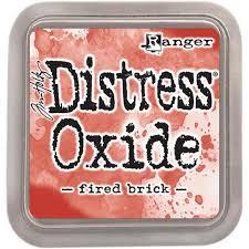Tim Holtz Distress Oxides ink pads - fired brick