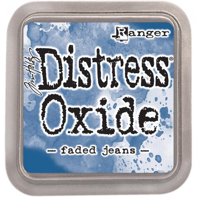 Tim Holtz Distress Oxides ink pads - faded jeans