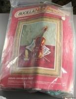 Violin Solo-Needlepoint-VINTAGE NEEDLEPOINT-Bucilla