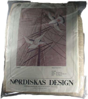 Nordiska Industri AB (NIAB) Greta Savfe Seagulls Picture Embroidery Kit 4350/01