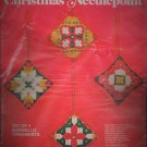 Vintage Bucilla Christmas Needlepoint - Bargello Ornaments - Set (4)