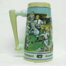 BUDWEISER Beer Baseball Mug - Sports Series - 1990 - Ceramarte