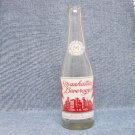 MANHATTAN BEVERAGES Soda Bottle - Manhattan Bottling Co. - Woonsocket, R.I. - 7 oz.