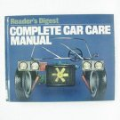 COMPLETE CAR CARE MANUAL - Reader's Digest - © 1981