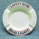 BUD LIGHT Beer Ceramic Ashtray - Round