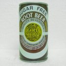 GOLD MEDAL SUGAR FREE ROOT BEER Can - 3 piece steel - tab top