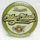 "SCHMIDT'S CITY CLUB Beer Pin - Schmidt - St. Paul, MN - 2-1/2"" round"