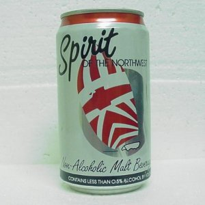 SPIRIT OF THE NORHWEST NA MALT BEVERAGE - Pabst Brewing Co. - alum - 3 cities