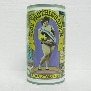 OLDE FROTHINGSLOSH PALE STALE ALE Can - Pittsburgh Brewing - Pittsburgh, PA - bank top
