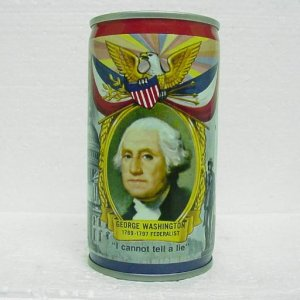 FALSTAFF BEER President Can - George Washington - Falstaff ...