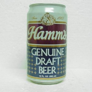 HAMM'S GENUINE DRAFT BEER Can - Pabst Brewing - 3 cities - StaTab - bo