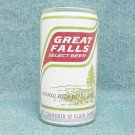 GREAT FALLS SELECT BEER Can - Blitz-Weinhard - Portland, OR - crimped steel - pull tab