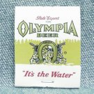 OLYMPIA BEER Matchbook - Olympia Brewing Company - Olympia - St. Paul - Unused