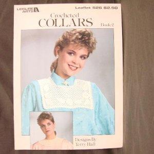 CROCHETED COLLARS - Leisure Arts #526 - 1987 - Terry Hall