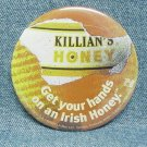 KILLIAN'S HONEY Beer Pinback - flashing light - 3""