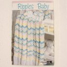 EASY RIPPLES FOR BABY Crocheted Afghans - Leisure Arts - 2005