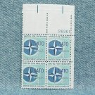 NATO Plate Block - 1959 - 4¢ stamps