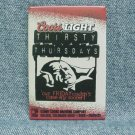 COORS LIGHT THIRSTY THURSDAYS Pinback - Coors - Golden, CO - ©2001