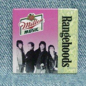 MILLER MUSIC Beer Pinback - Rangehoods - Miller Beer