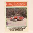 CAR CLASSICS Magazine - June 1975 - Duesenberg GM Nash Chrysler Buick