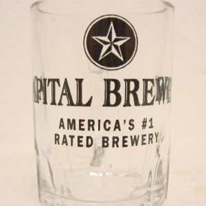 CAPITAL BREWERY Glass Handled Mini-Mug- Madison, WI